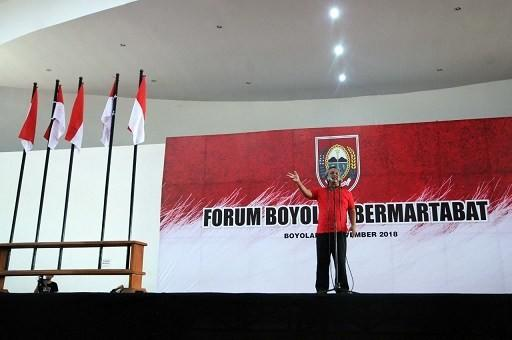 Tersinggung Warganya Direndahkan, Bupati Boyolali Ajak Tak Pilih Prabowo