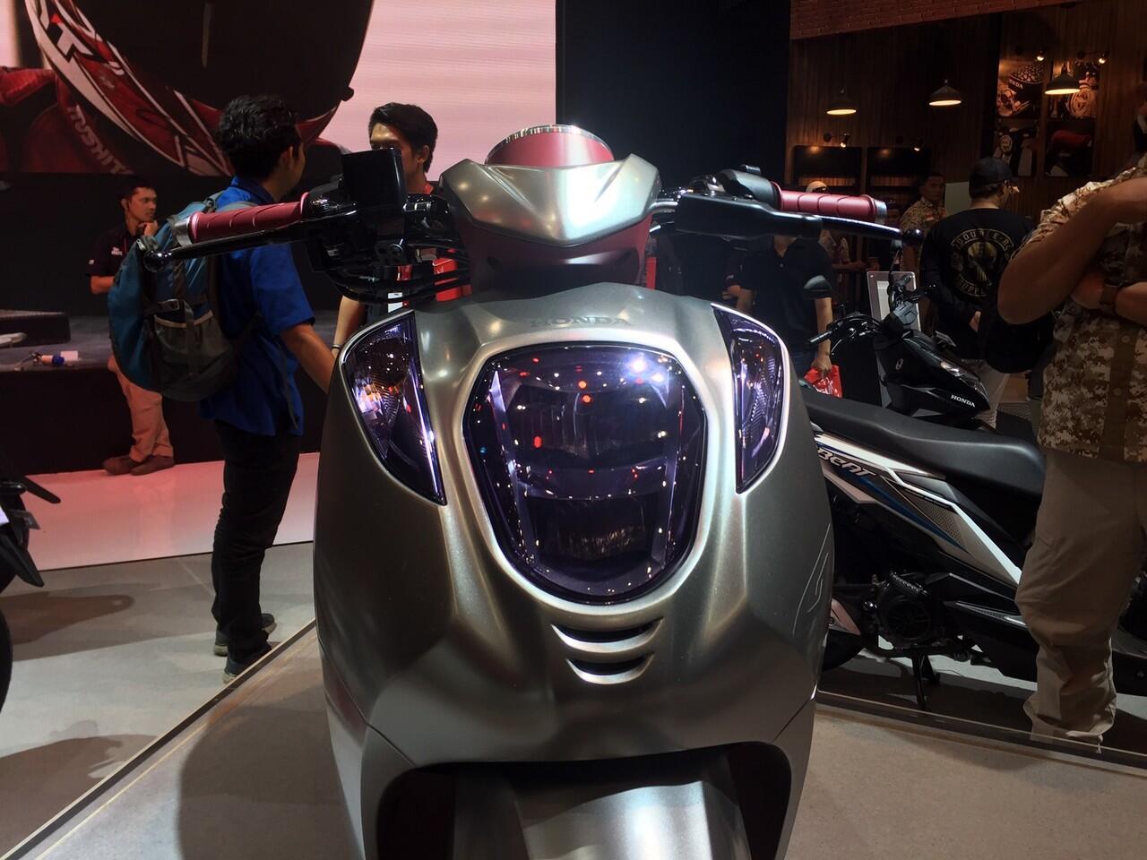 Skutik Konsep Honda Ternyata Punya Mesin 125 CC, Gan