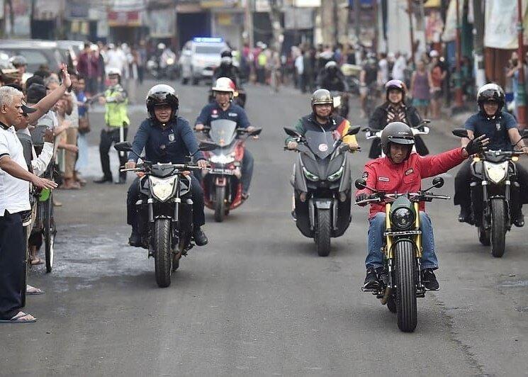 Motor Kustom Baru Jokowi Dibuat Cuma Seminggu