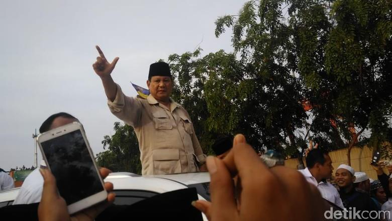 Prabowo: Saya Bingung, Kalau Saya Bercanda Dipersoalkan