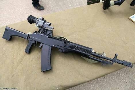 AN-94, SENAPAN SERBU MODERN RUSSIA