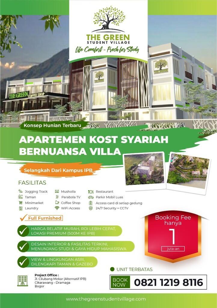 Apartment Kost Syariah Bernuansa Vila