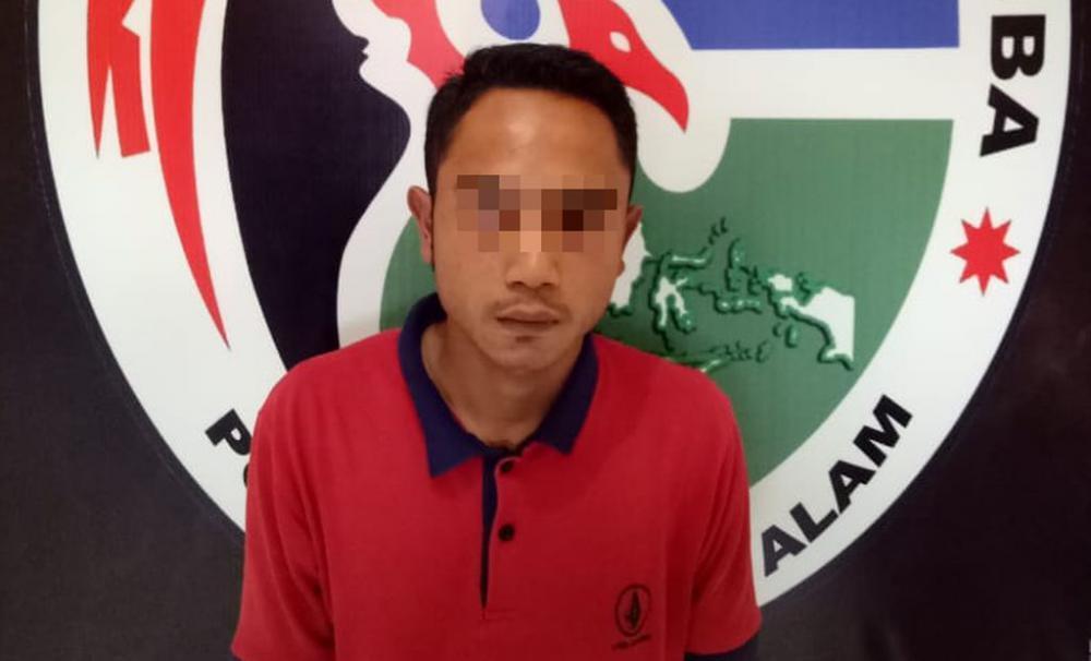 Oknum Mahasiswa Pengedar Ganja Ditangkap di Villa Gunung Dempo