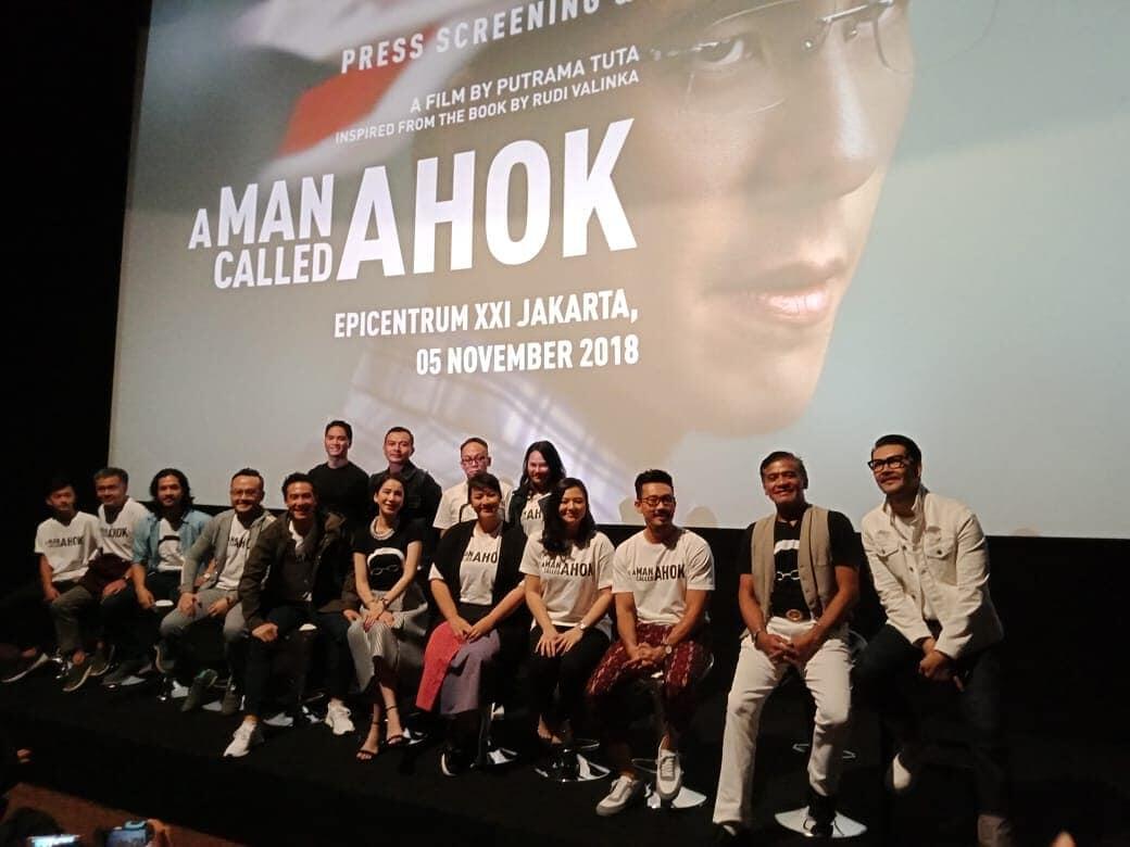 """Film""""A Man Called Ahok""""Hujan Air Mata Dan Sensasi Kerinduan Pada Tayang Perdana Media"""