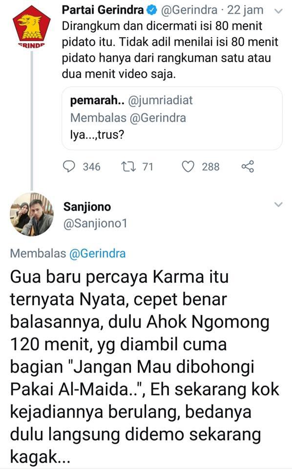 "Jubir Prabowo Sebut Pernyataan ""Tampang Boyolali"" Dipelintir"