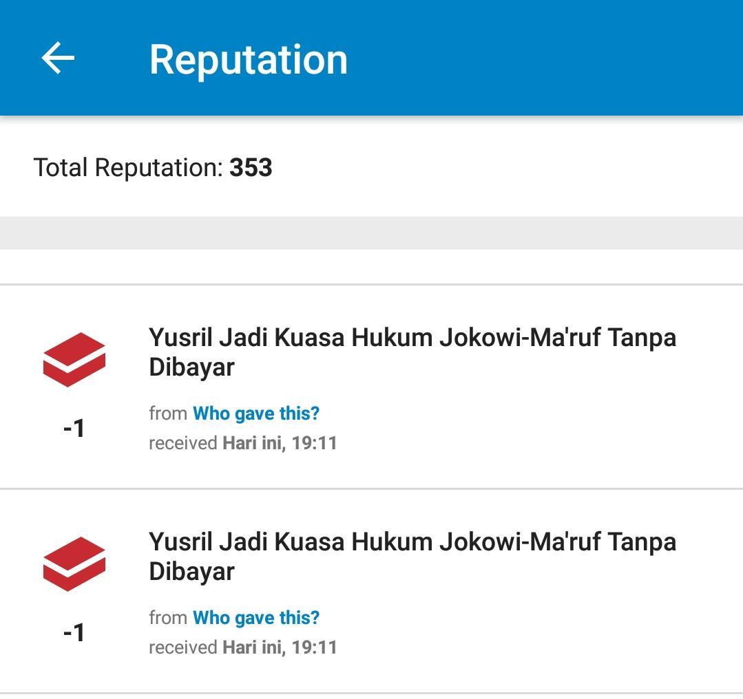 Yusril Jadi Kuasa Hukum Jokowi-Ma'ruf Tanpa Dibayar