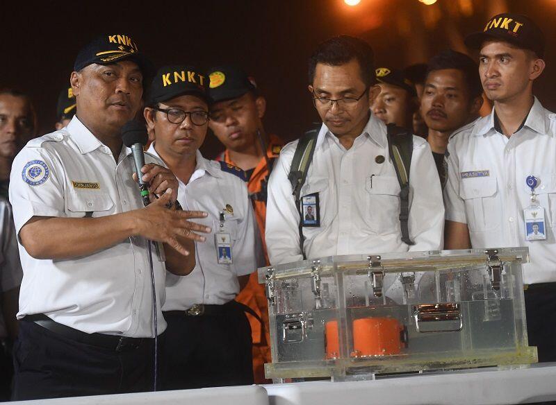 Data FDR Kotak Hitam Lion Air JT 610 Berhasil Diunduh
