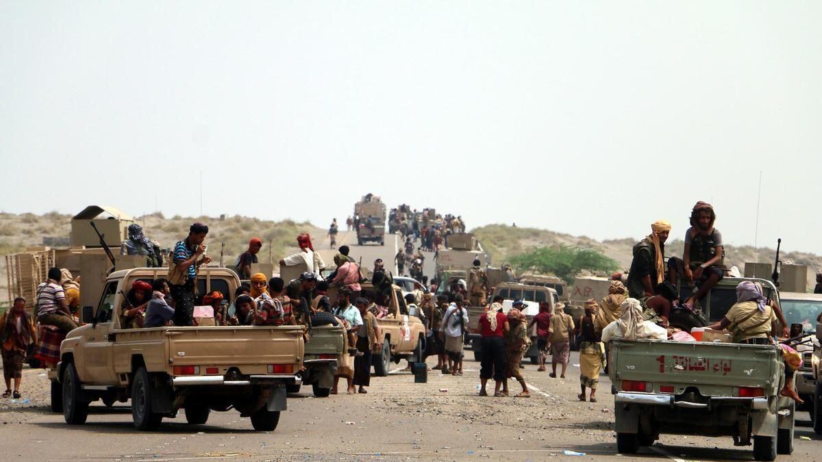Pasukan Koalisi Dukungan Arab Saudi Tetap Begerak Maju Menuju Hodeidah