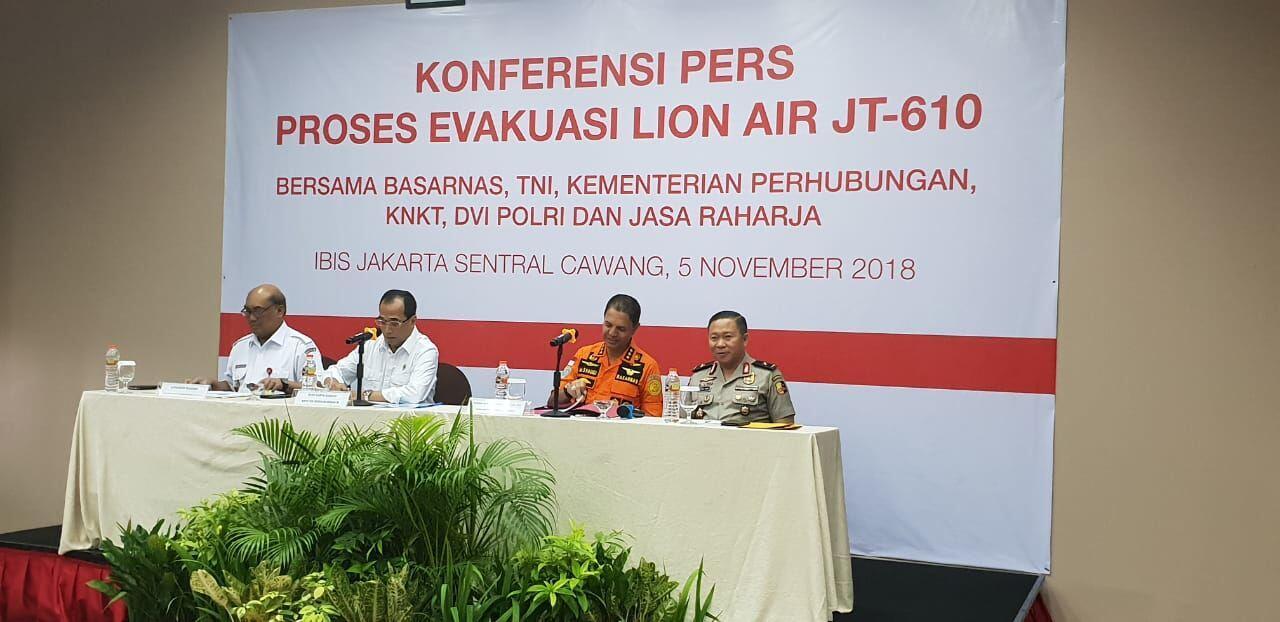 [BREAKING] Kemenhub Investigasi Jatuhnya Lion Air JT 610