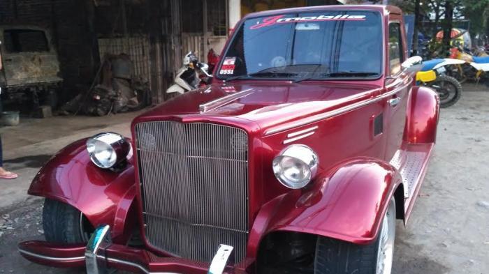 BIKIN NGILER Lihat Mobil Tua Bernilai Ratusan Juta Rupiah,