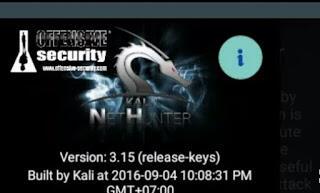 Cara Install Kali Nethunter di Semua Device android