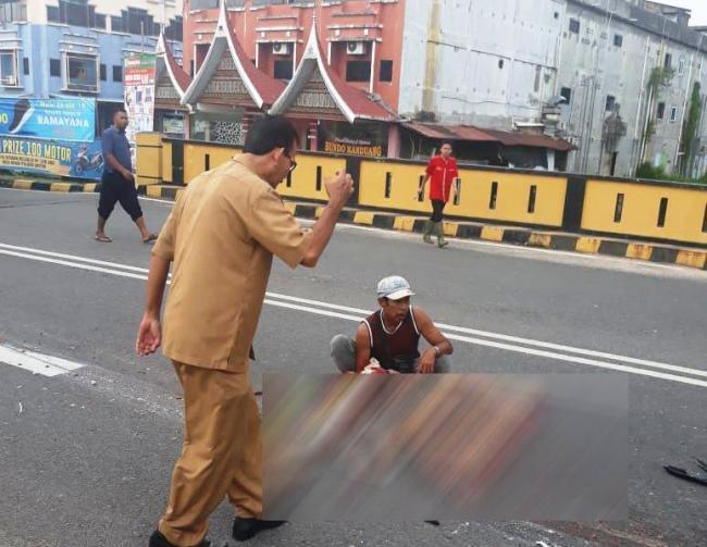 Ermawati Tewas Terlindas Truk Granit di Tanjungpinang