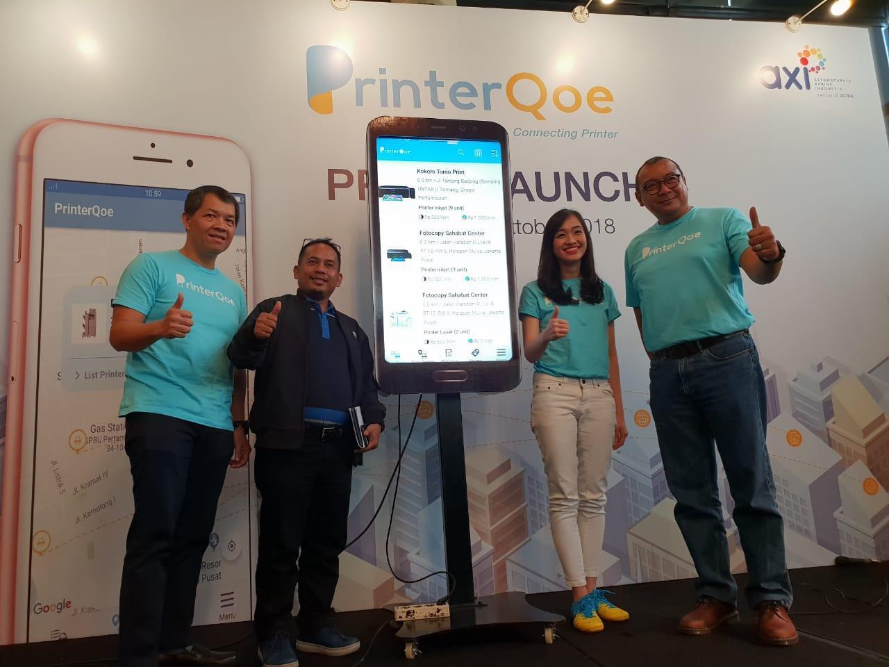 Launching PrinterQoe Aplikasi Cetak Dokumen Online