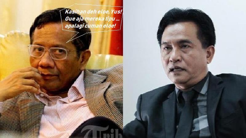 Merapat ke Jokowi, Massa PBB Tinggalkan Yusril? (Jokowi belum tentu menerima?)