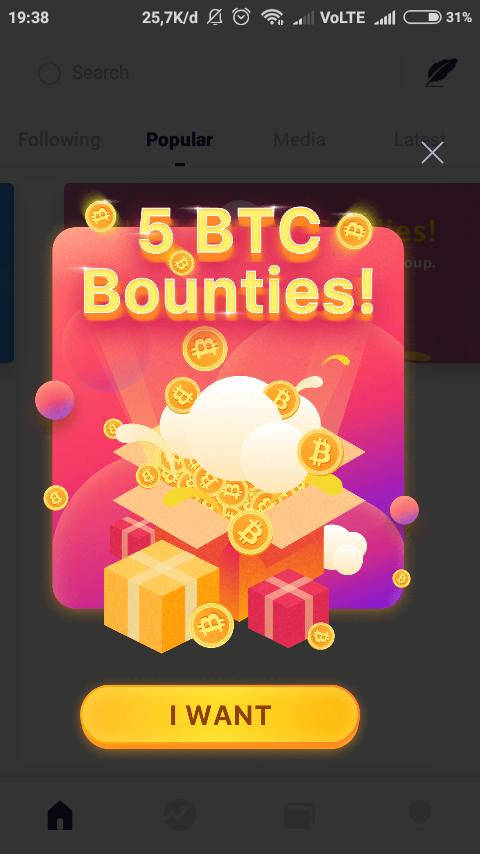 Aplikasi penghasil bitcoin