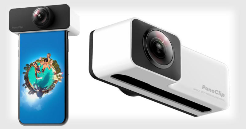 Panoclip (Ultimate snap-on 360° lens) US$27.55 (~IDR$407997.04) @ DigitStores