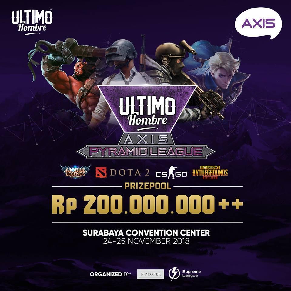 [EVENT] Ultimo Hombre AXIS Pyramid League - Surabaya (24-25 November 2018)