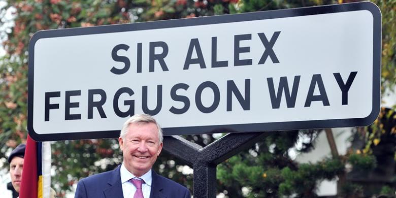 Manchester United dan Nama Jalan di Berbagai Belahan Dunia