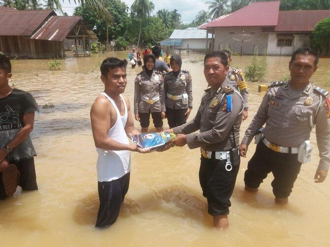 Sungai Kuantan meluap, 2.949 rumah dan 1.513 ha sawah terendam banjir