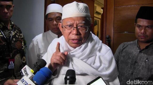 Balas Prabowo, Ma'ruf: Sulit Tak Impor, Tapi Kita akan Perkuat Ekspor