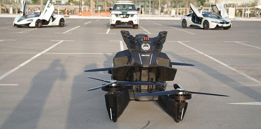 "Bayar DP 150 juta Agan Udah Bisa Inden Hoverbike ""Motor Terbang"" Keren Ini!"