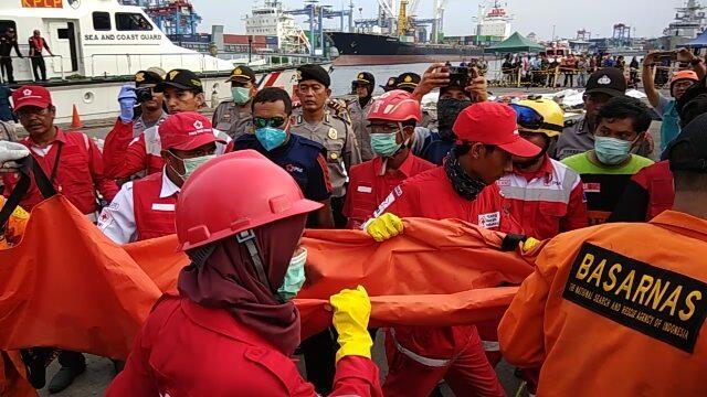 Sudah 164 Kantong Jenazah Lion Jatuh Dievakuasi