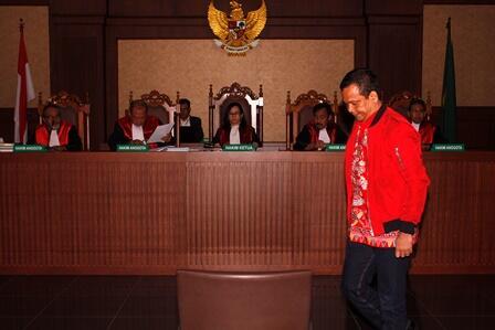 Wakil Ketua DPRD Lamteng Divonis 5,5 Tahun Penjara