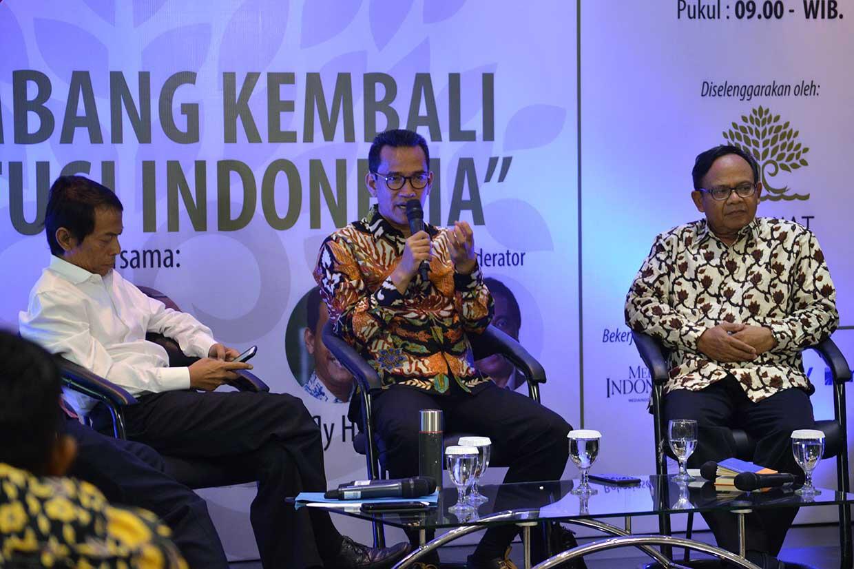 Permintaan DPD agar Presiden Mengevaluasi MK Dianggap Ngawur