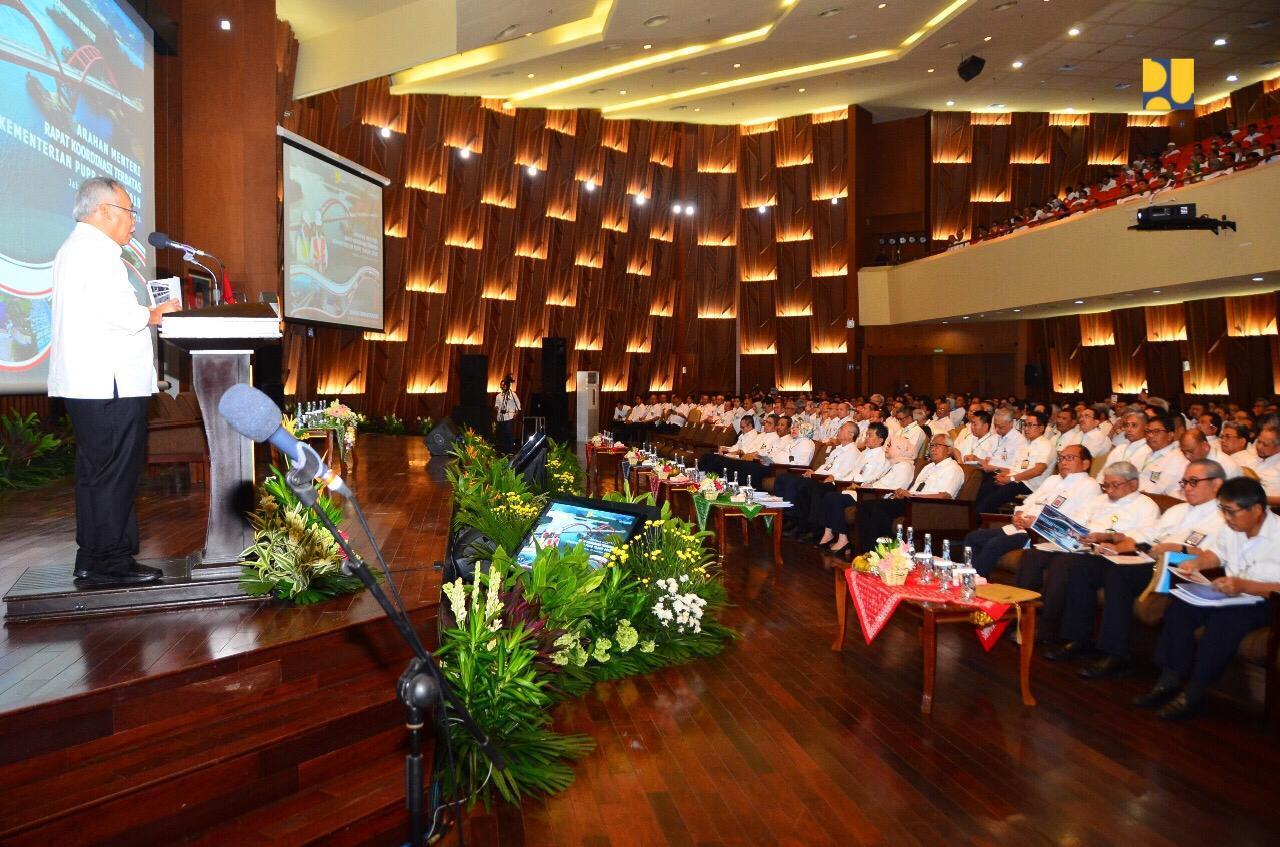 Menteri Basuki: Jangan Ada Proyek PUPR Mangkrak Sampai 2019