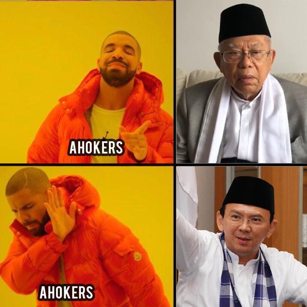 Ma'ruf Amin, Kekuatan Politik Identitas Jokowi