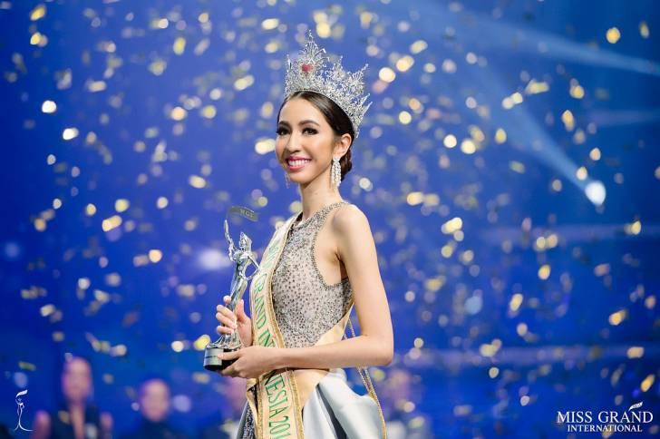 Nadia Purwoko, Pengacara Cantik yang Raih Runner Up Miss Grand International 2018