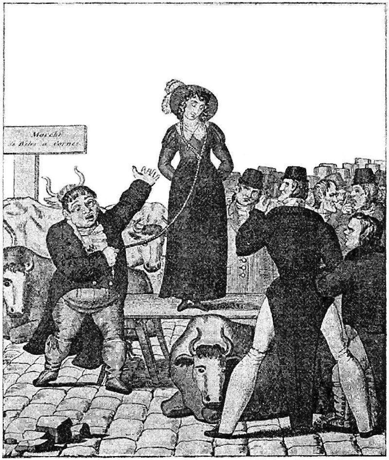 Sistem Penjualan Istri di Inggris, Sejak Kapan?