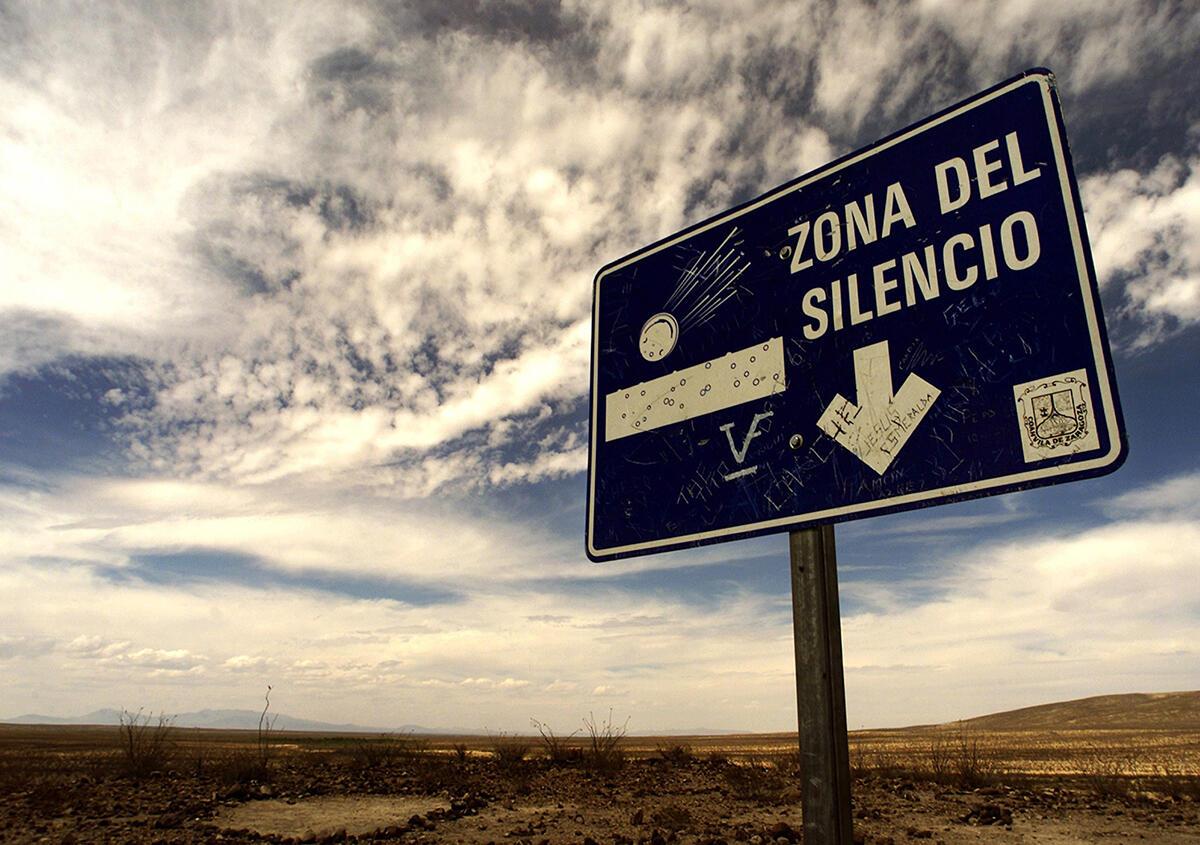 Ada Alien di Zona of Silence Meksiko, Bagaimana Faktanya?