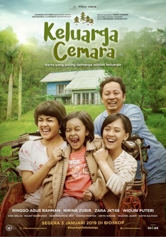 Video Teaser Film 'Keluarga Cemara' Tayang Perdana Eksklusif di KASKUS TV