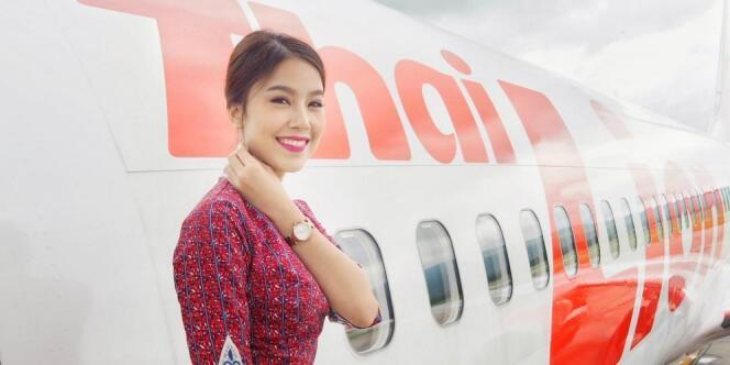 Syantik !!! Si Cantik Miss Thailand 2014 Yang Berprofesi sebagai Pramugari Lion Air
