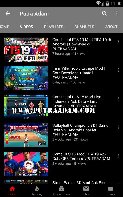 Download Aplikasi YouTube Mod v13.43.50 Apk Tanpa Iklan & BG Play + Black Theme