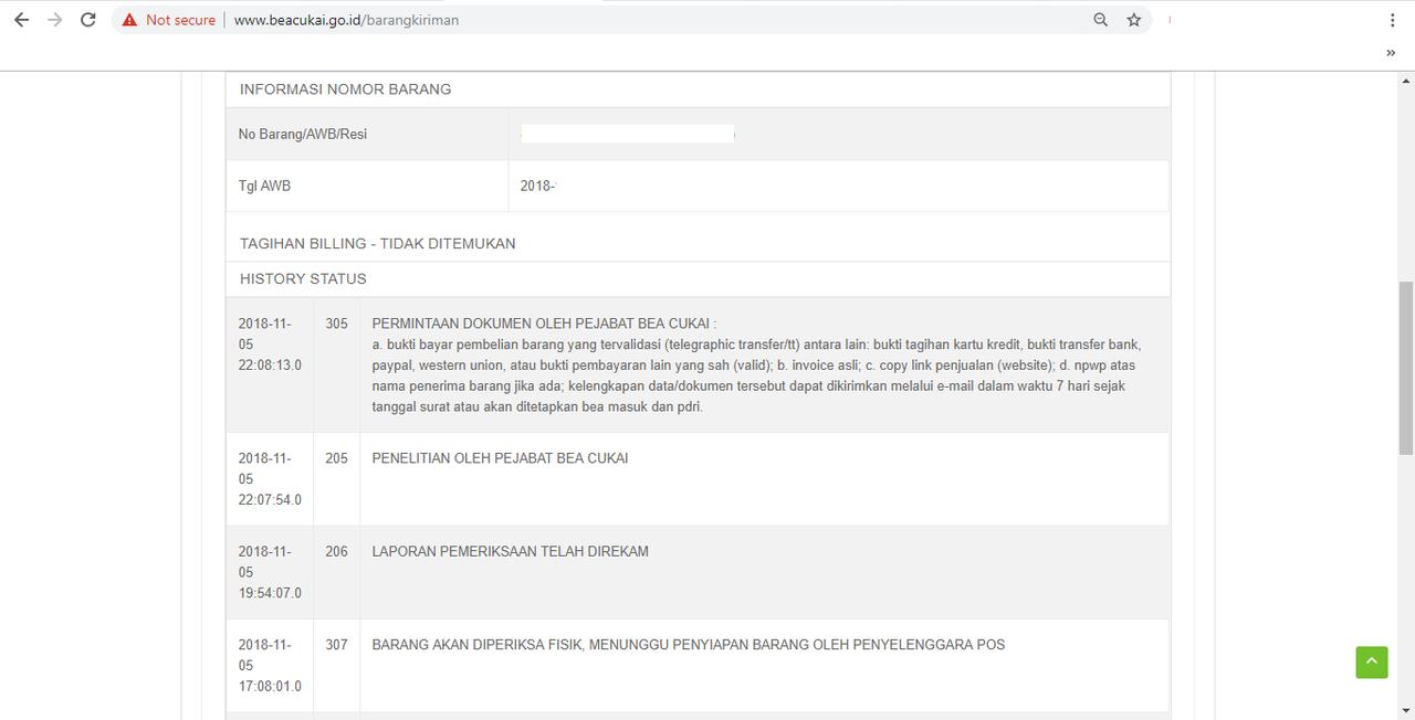 Pelayanan/ Oknum DHL Express Semarang