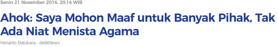 Prabowo: Saya Tidak Ada Niat Sama Sekali Menghina Orang Boyolali