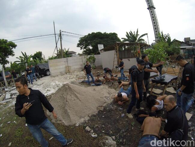 Polisi Amankan 25 Preman Yang Duduki Tanah Sengketa