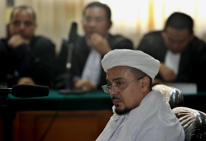 Rizieq diperiksa polisi Arab Saudi, kasusnya belum diketahui
