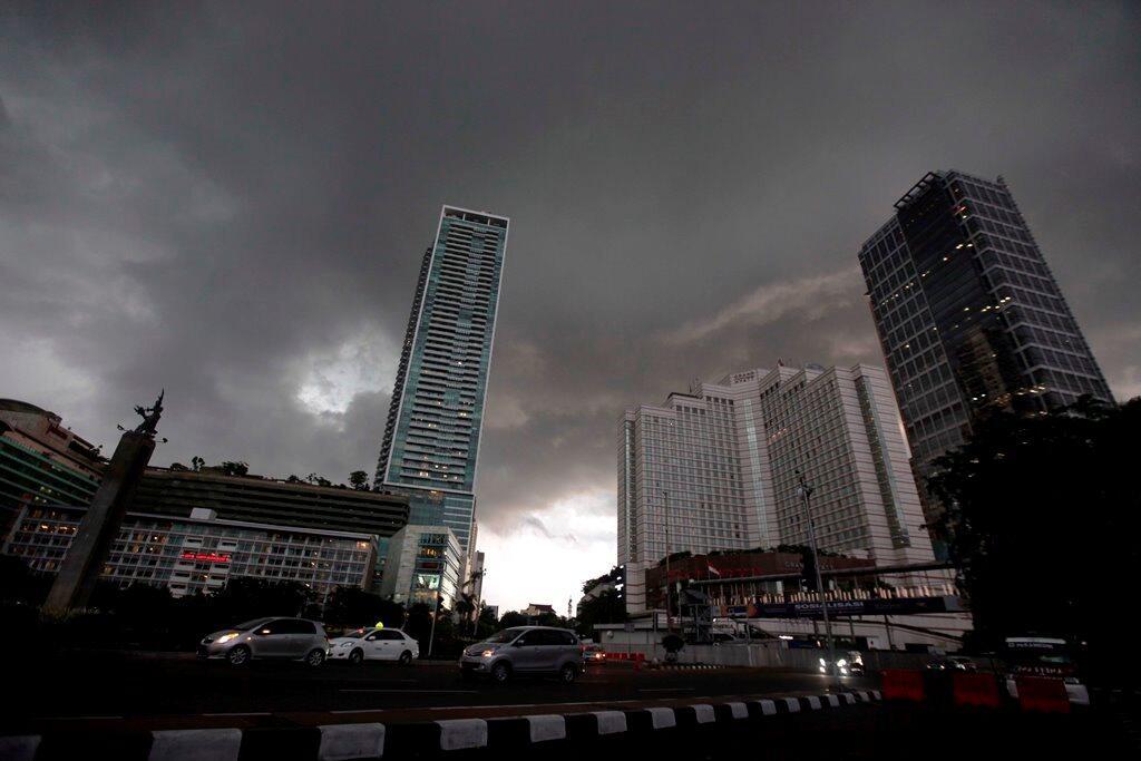 Jakarta Diprediksi Hujan pada Siang Hari