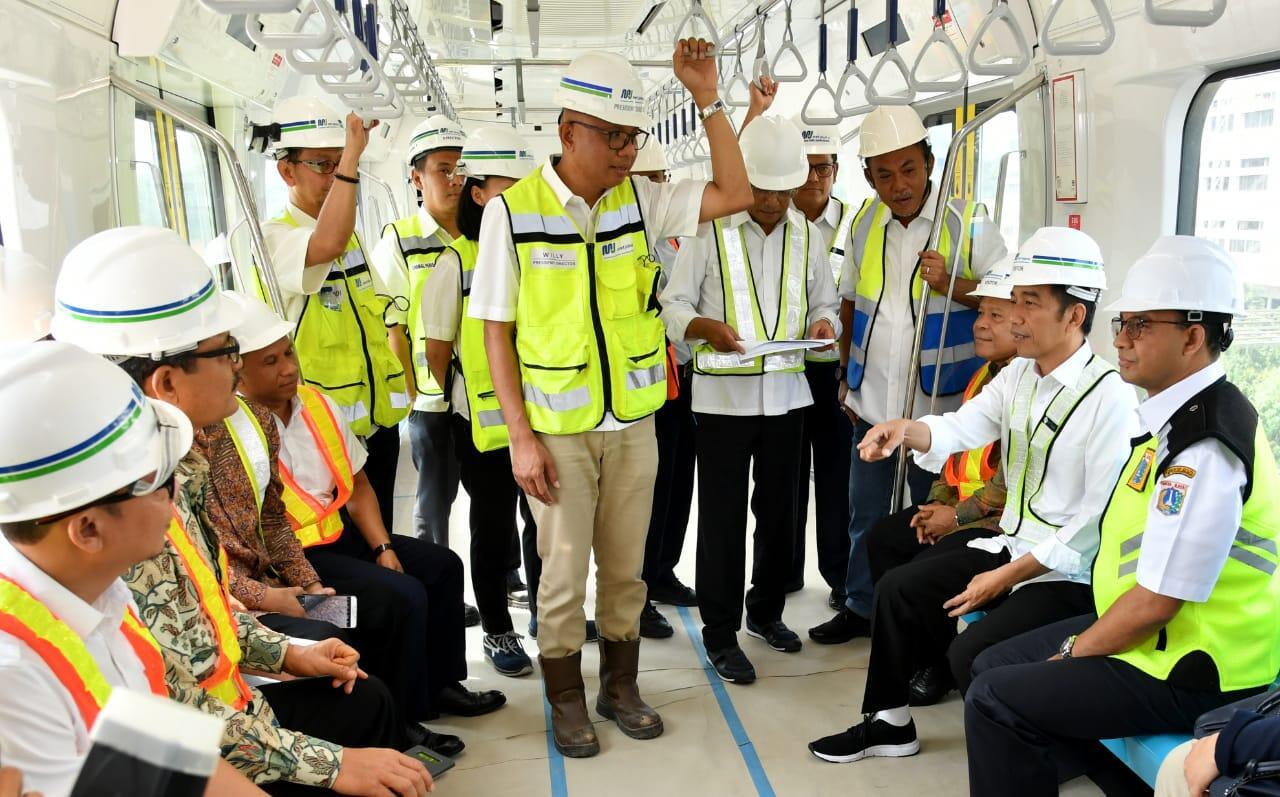 Jajal MRT, Presiden: Sangat Bagus!