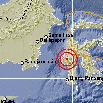 Gempa Berkekuatan M 5,2 Guncang Mamasa, 2 Orang Pingsan