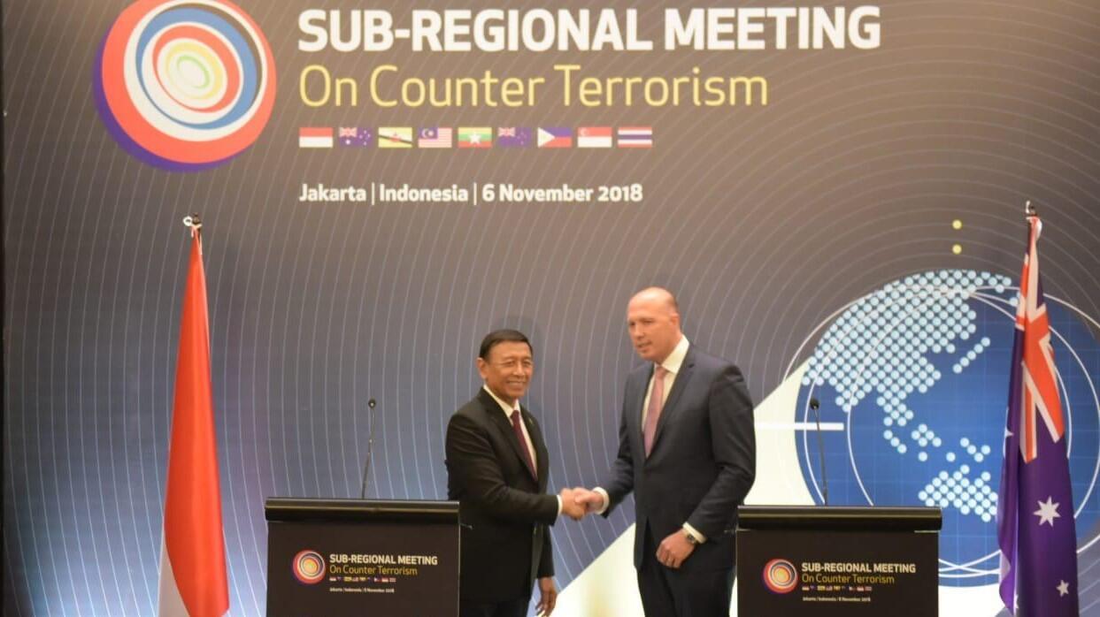 Bersama 7 Negara, RI-Australia Pimpin Pertemuan Bahas Kontraterorime