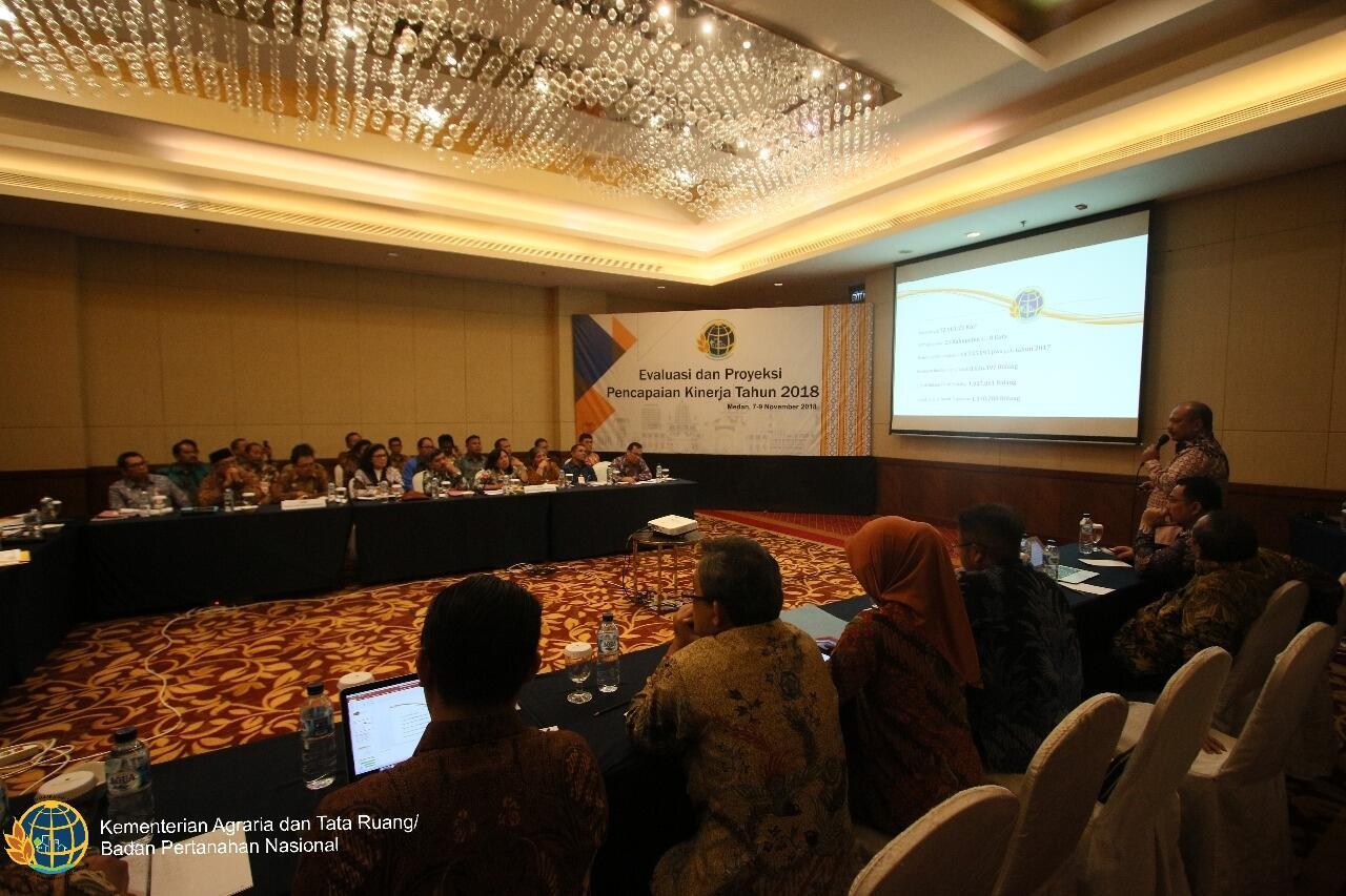 Gelar Rakerda, ATR/BPN Evaluasi Kinerja Kanwil BPN Provinsi