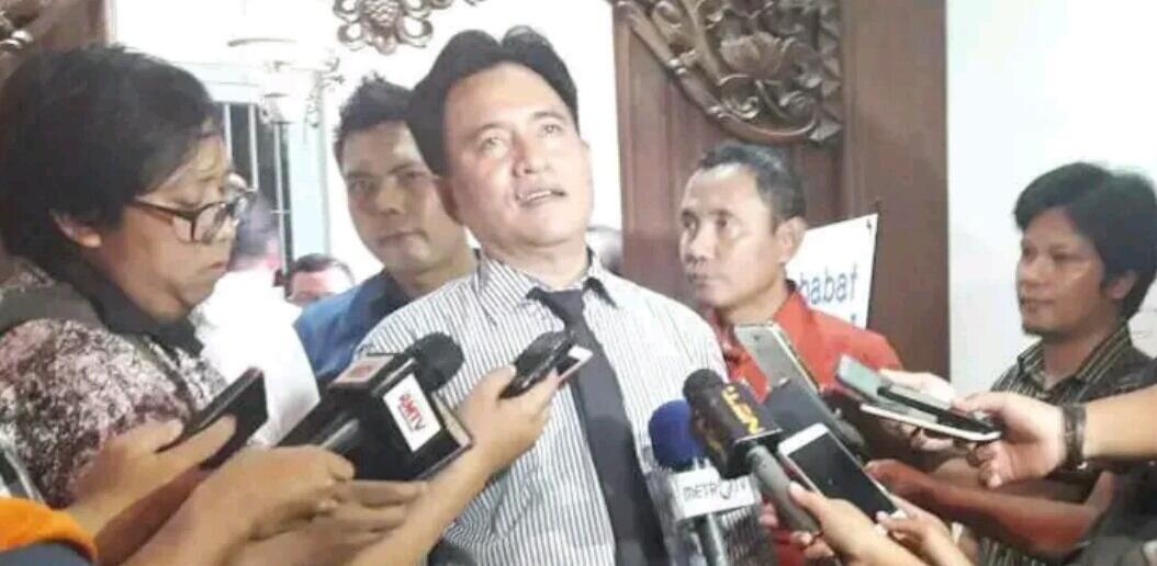 Salah Sendiri Anggap Yusril Ihza Mahendra Gak Penting, Mending Gabung Jokowi-Ma'ruf