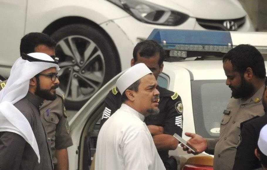 Sempat Diperiksa 28 Jam, Rizieq Dibebaskan Dengan Jaminan