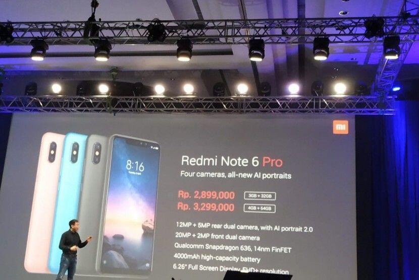 Mengenal Xiaomi Redmi Note 6 Pro, Sang Redmi Note Generasi Keenam