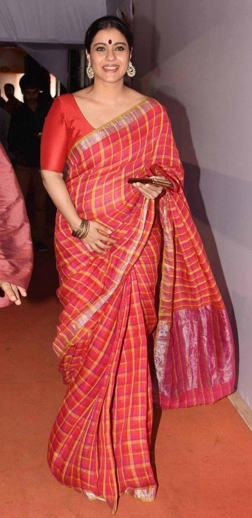 10 Penampilan Anggun Kajol di Pesta Diwali dari Tahun ke Tahun, Fancy!