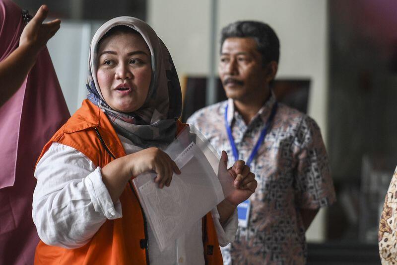 Bupati Neneng Yasin Kembalikan Uang Suap Proyek Meikarta Rp3 Miliar